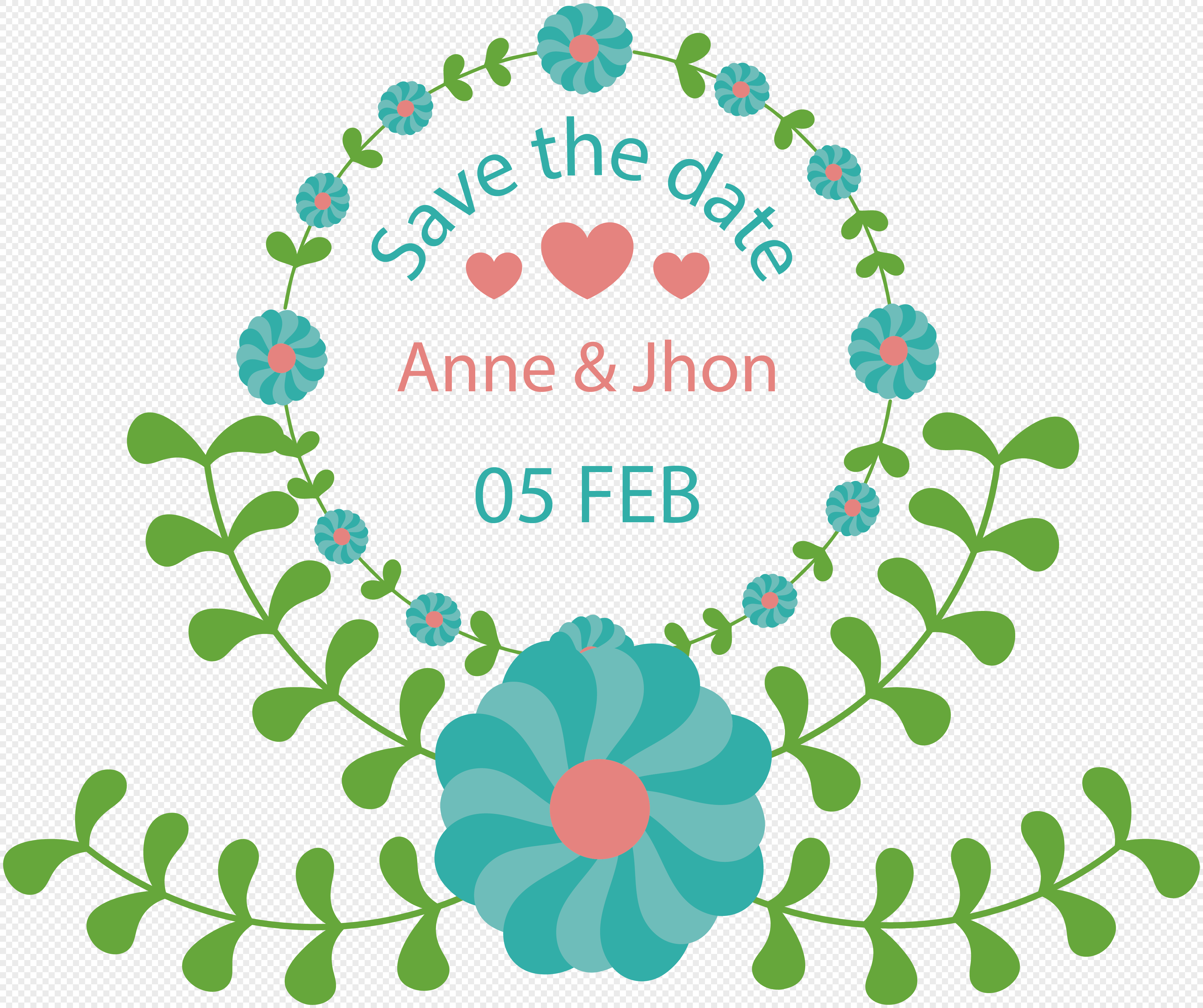 Wedding Flower Border Material Png Imagepicture Free Download