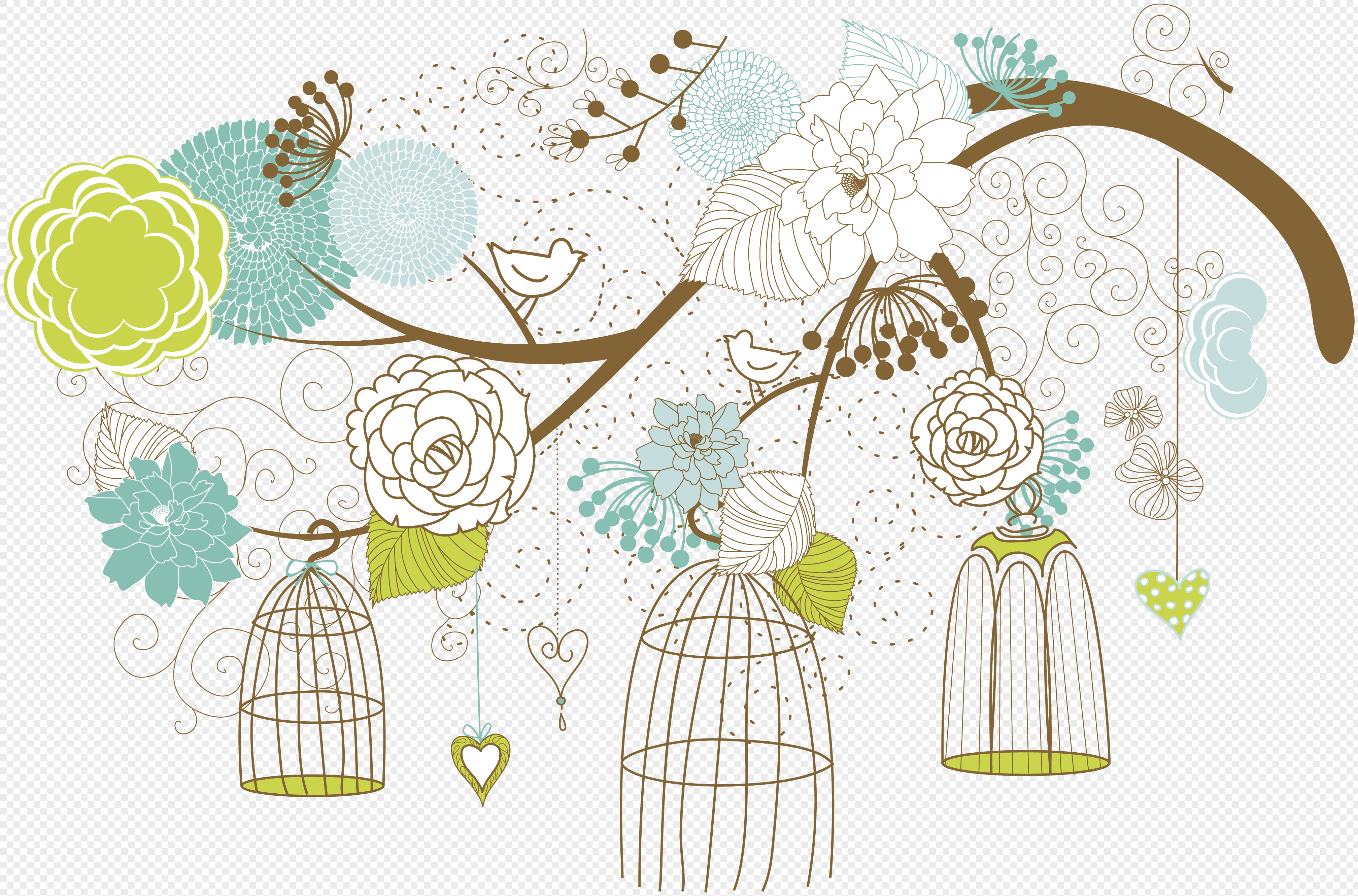 vectorial bird cage vector image picture 400318770 free