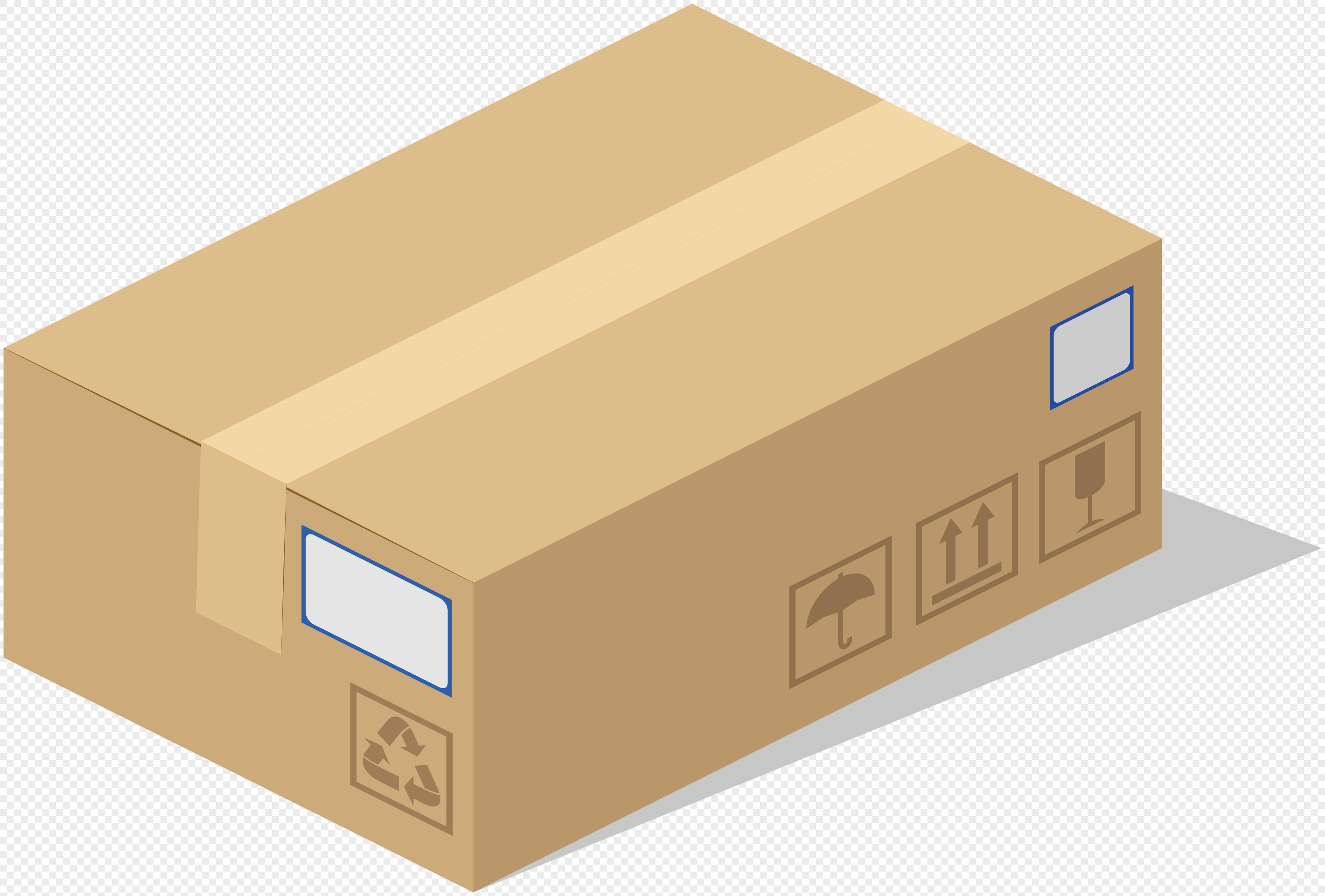 Carton Design Vector Cardboard Corrugated Packaging Box
