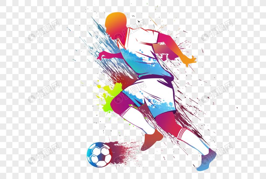 sepak bola penuh warna