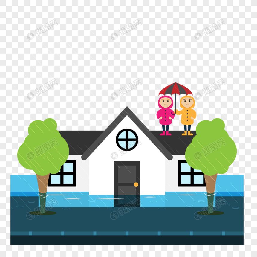 Rancangan Pendidikan Keselamatan Banjir Alam Hujan Hujan Gambar