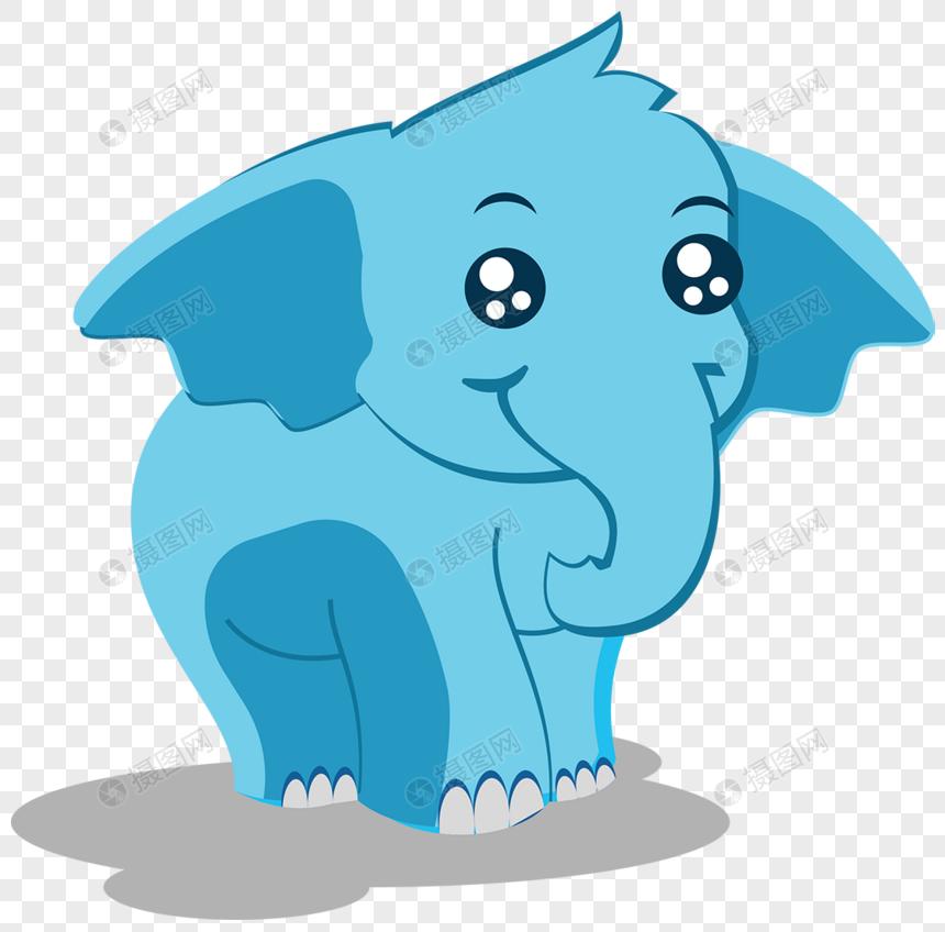 Vektor Gajah Kartun Gambar Unduh Gratisimej 400322119format Psdmy