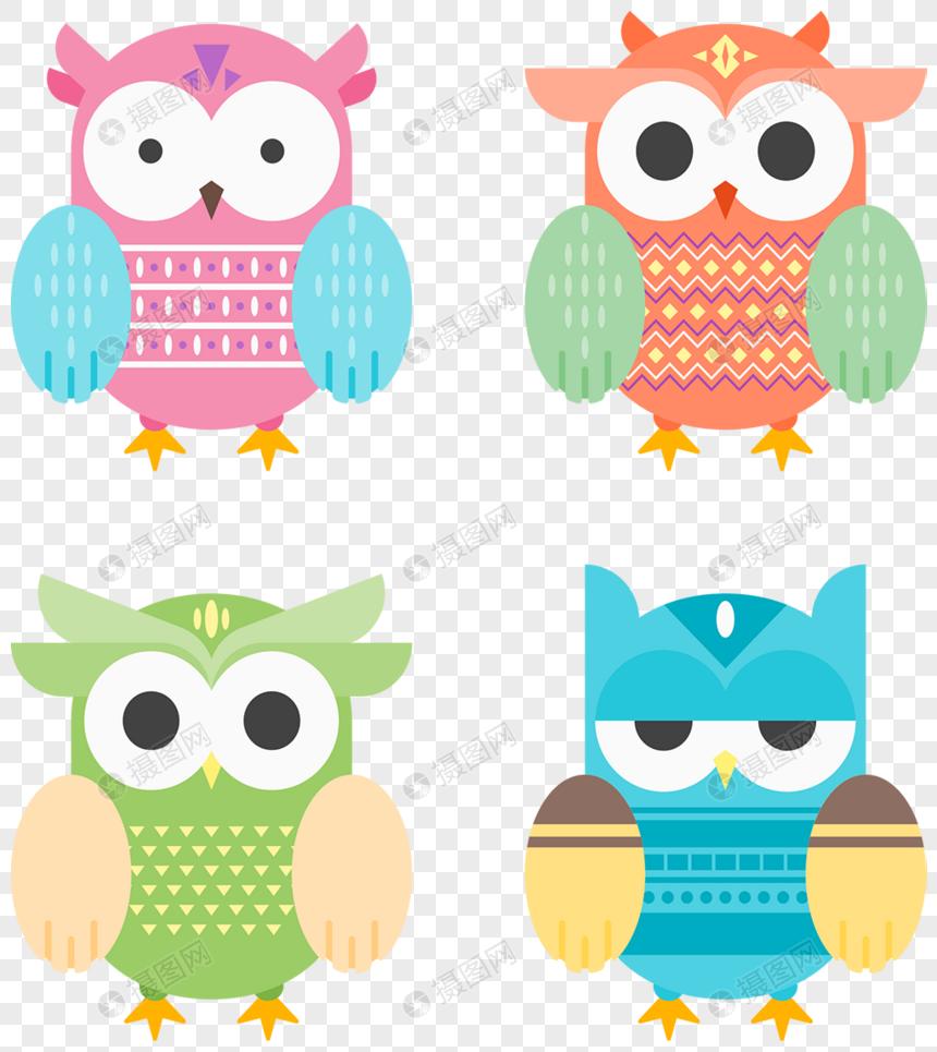 4 Burung Hantu Comel Gambar Unduh Gratisimej 400326995format