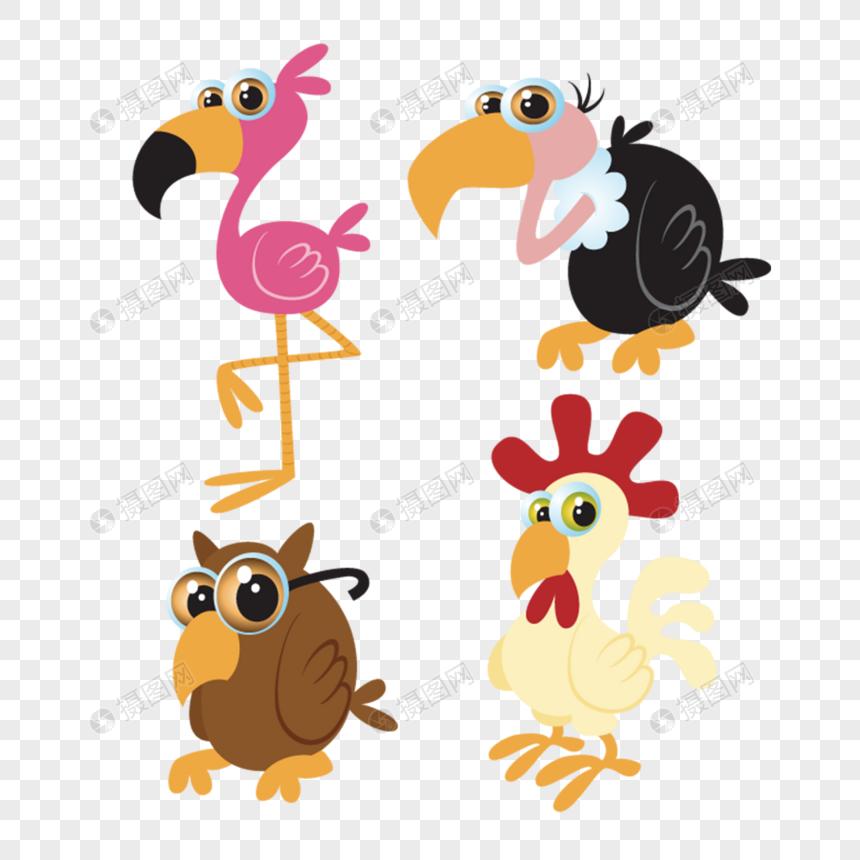 Pájaros De Dibujos Animados Imagen Descargarprf Gráficos