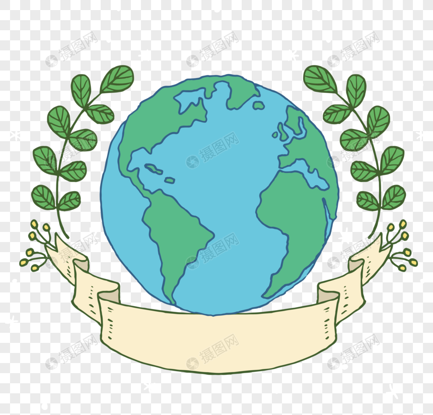 Earth Day Hand Drawing Png Image Picture Free Download