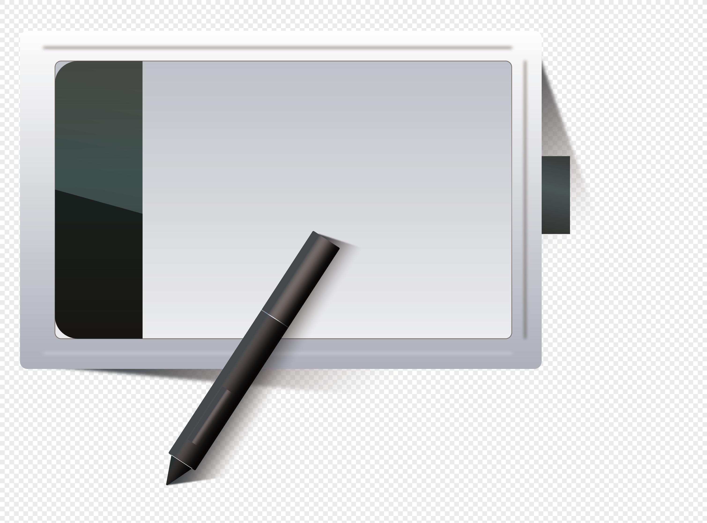learning office stationery digital board cartoon vector material