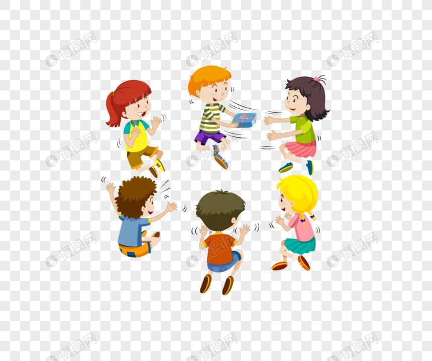 Diseño De Grupo De Niños De Dibujos Animados Imagen Descargarprf