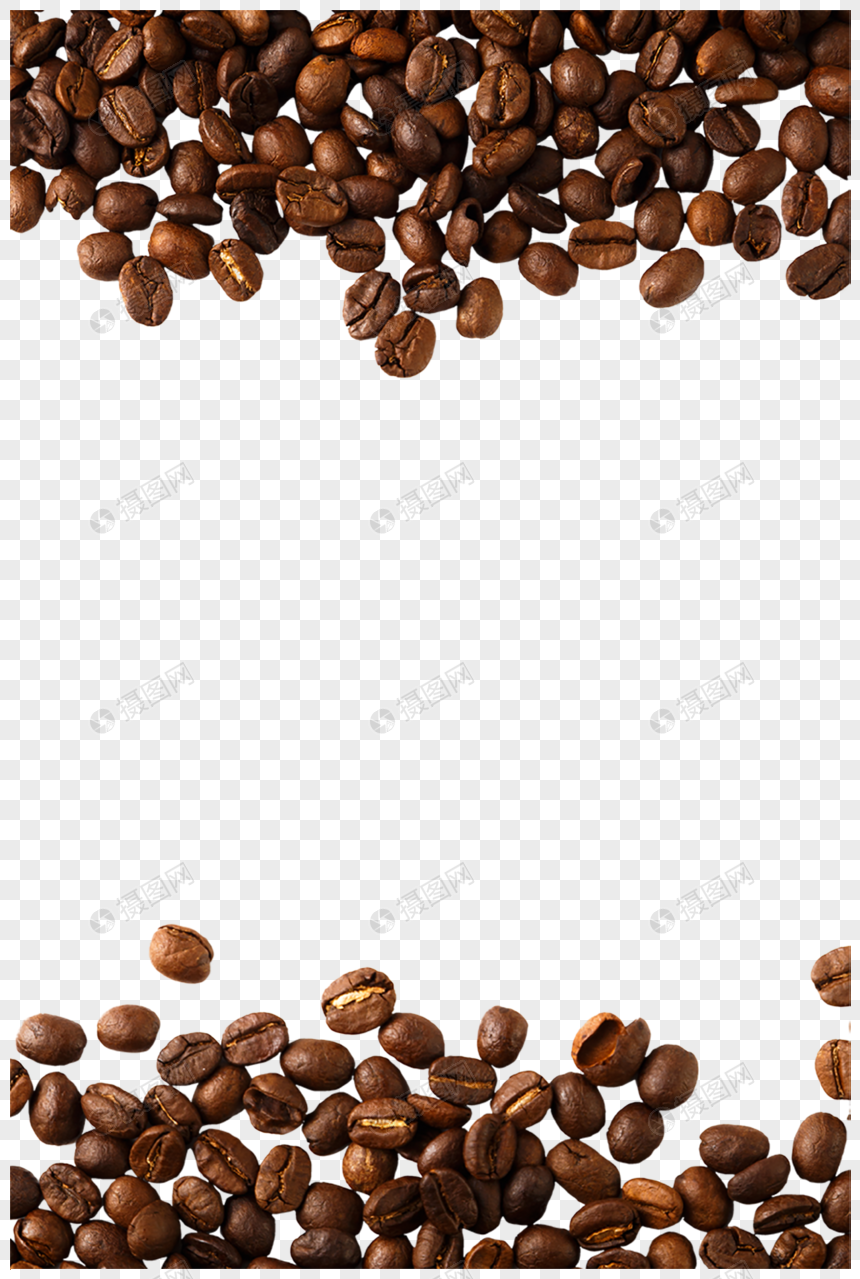 coffee cups and coffee beans png