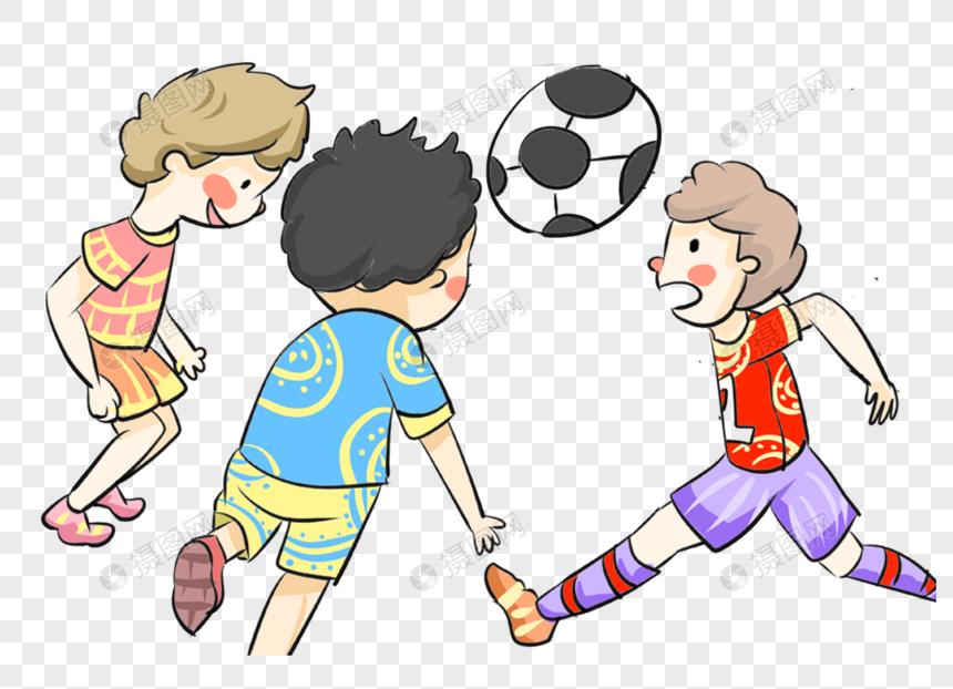 Tiga Orang Bermain Bola Sepak Gambar Unduh Gratis Imej 400343383 Format Png My Lovepik Com