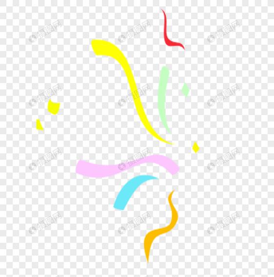 Fuochi Dartificio Colorati Dei Cartoni Animati Immagine