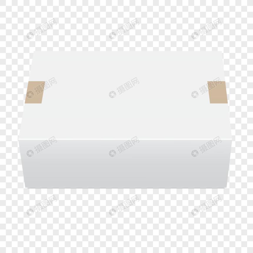 Kotak Tiga Dimensi Putih Kartun Bertopi Tangan Gambar Unduh