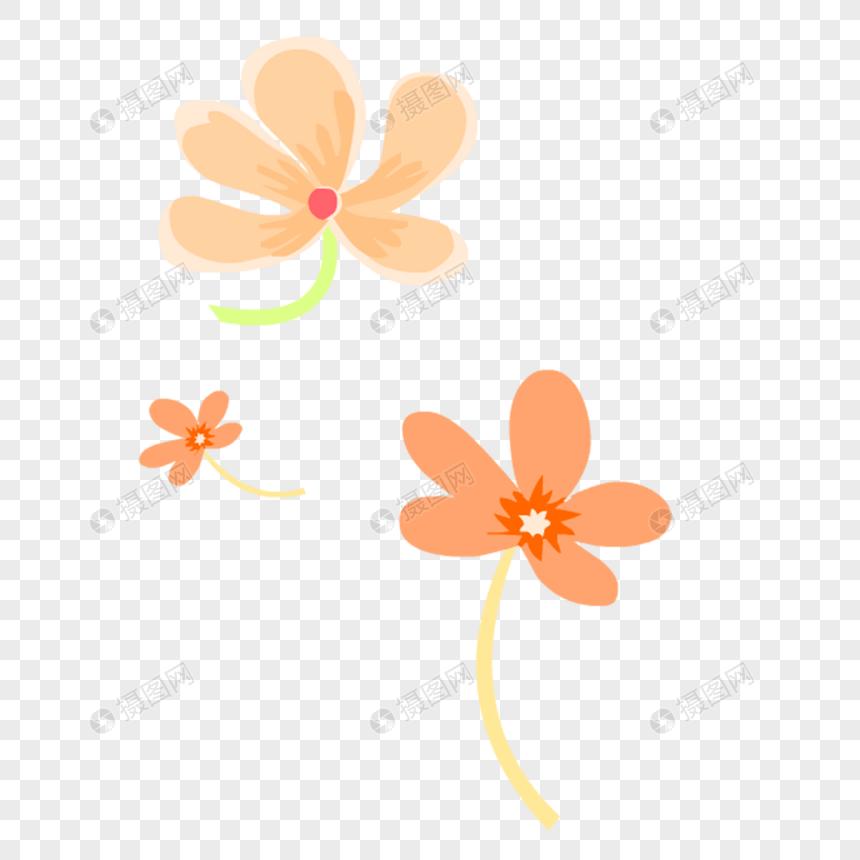 Flores Frescas De Naranja Imagen Descargar Prf Graficos 400350447