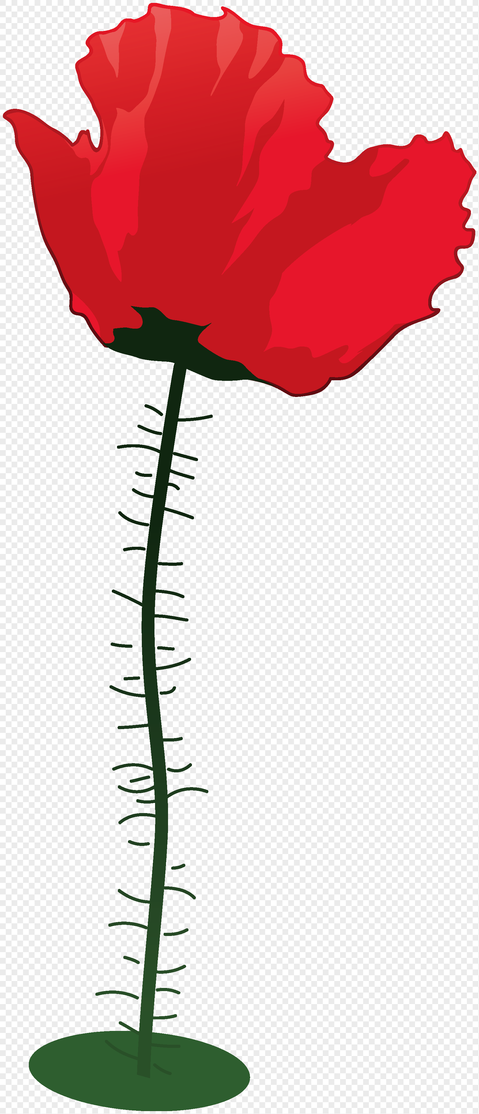 Cartoon Hand Painted Red Flowers Illustration Png Imagepicture Free