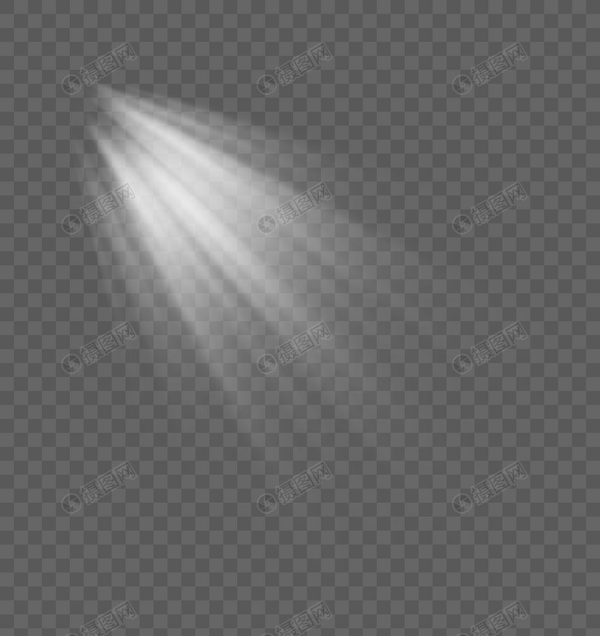 light effect of light beam png