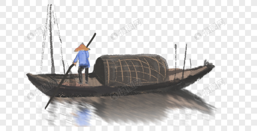 Fishing Boat And Fisherman Png Image Picture Free Download 400367878 Lovepik Com