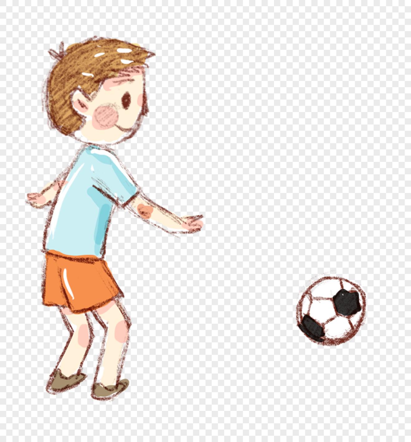 Nino Jugando Futbol Imagen Descargar Prf Graficos 400378584 Imagen