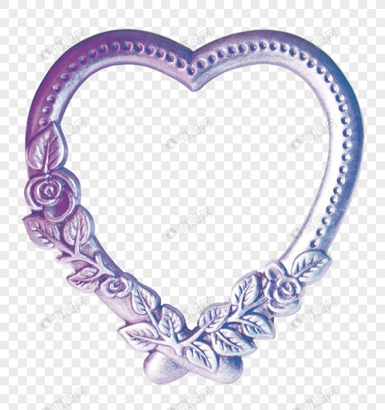 Heart-shaped frame images_graphics 400402452_m.lovepik.com