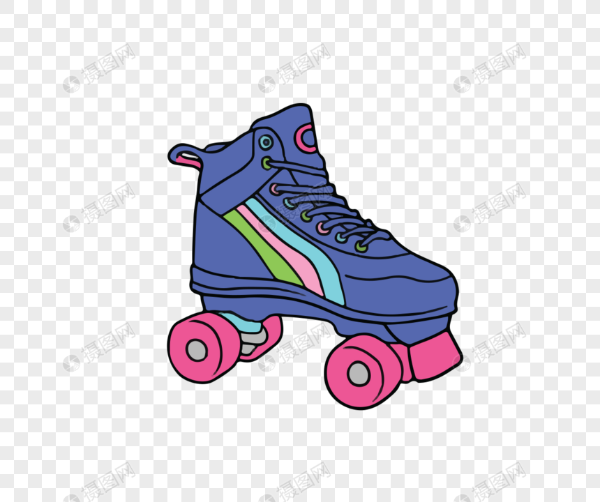 Painted 80s objects png image_picture free download