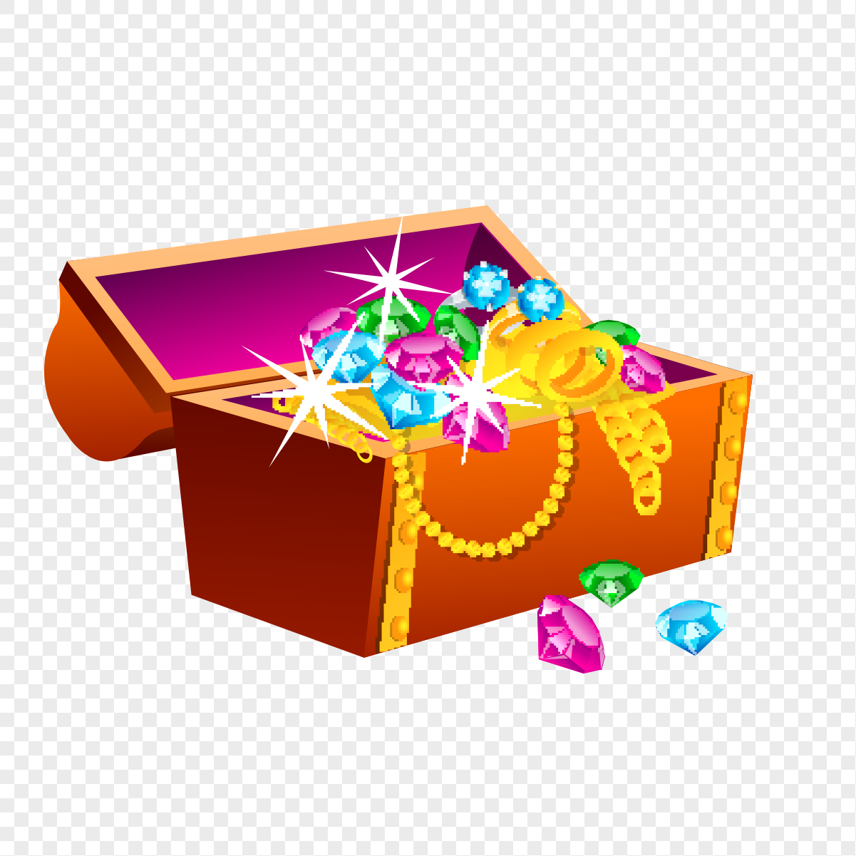 Treasure Box Pattern Png Image Picture Free Download