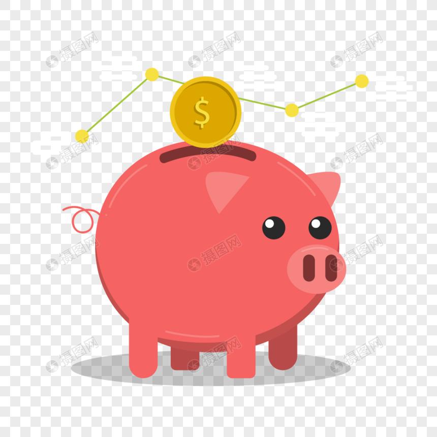 Negocio Dinero Dinero Dibujos Animados Plan Patrón Vector Materi