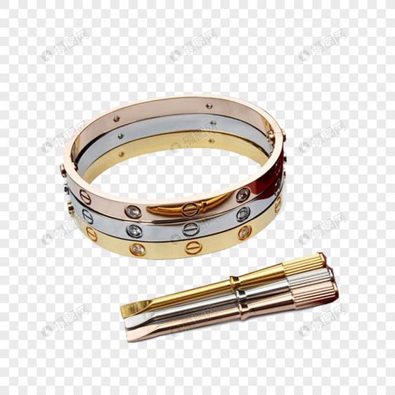 b4a03fe7826 Chave de fenda de pulseira Cartier tricolor Imagem Grátis Gráficos ...