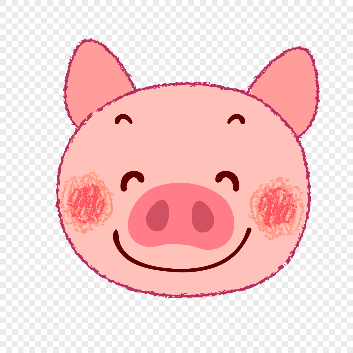 cute pink pig png image picture free download 400436051