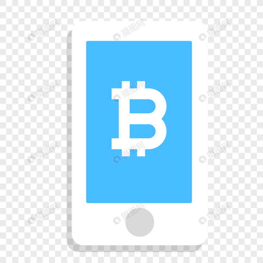 Digital currency mobile phone transaction icon png