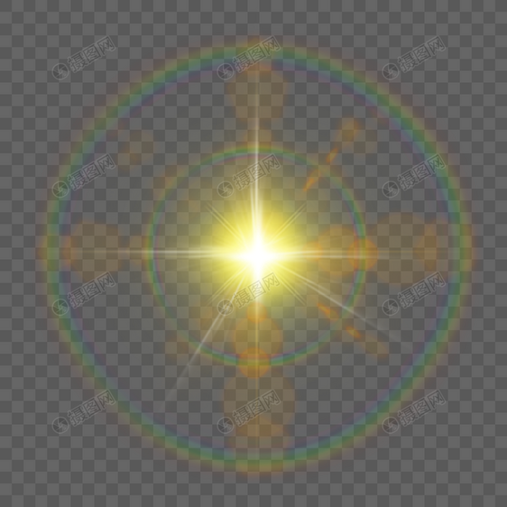 Raggi Di Luce Di Stelle Di Colore Gratis 抠 Png Immagine