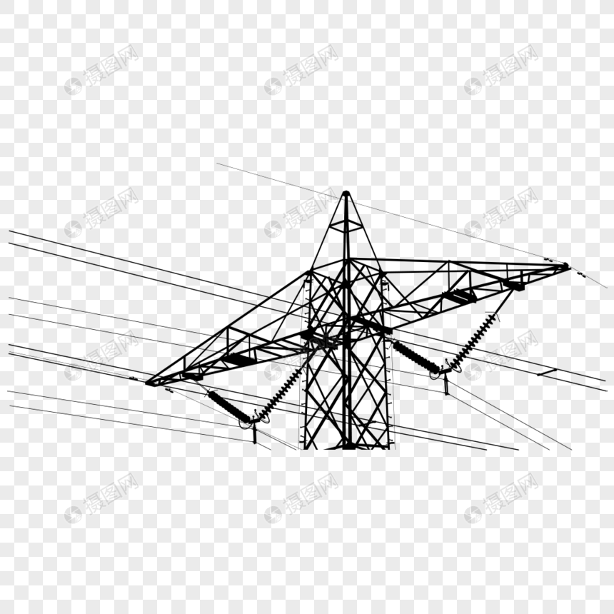 High Voltage Transmission Tower Imagepicture Free Download