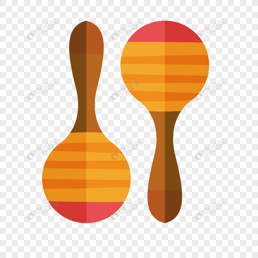 Material De Instrumentos Musicales De Dibujos Animados Imagen