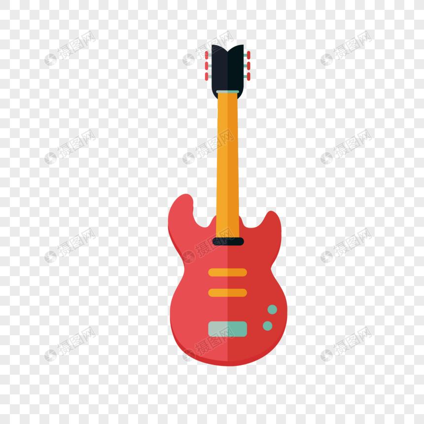 Material De Elemento De Instrumento Musical De Dibujos Animados