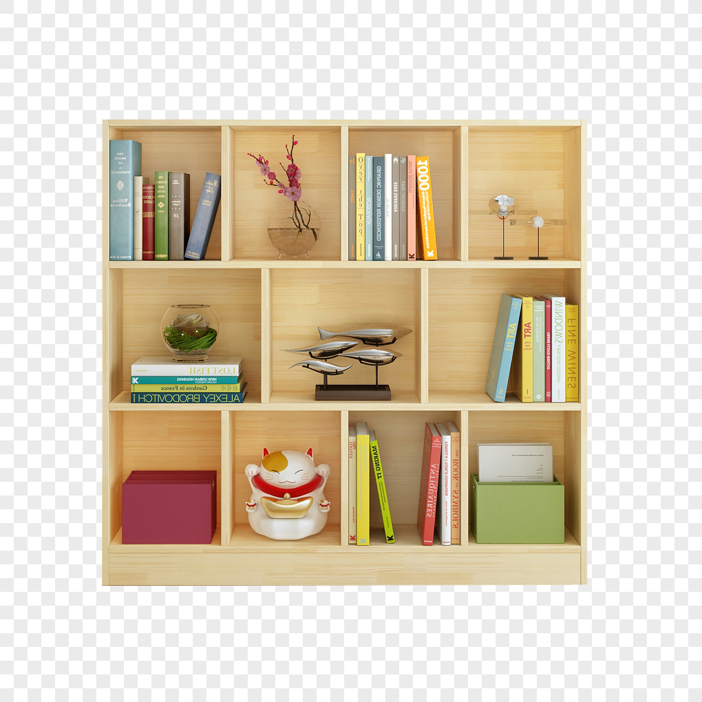 Simple Student Classroom Bookshelf