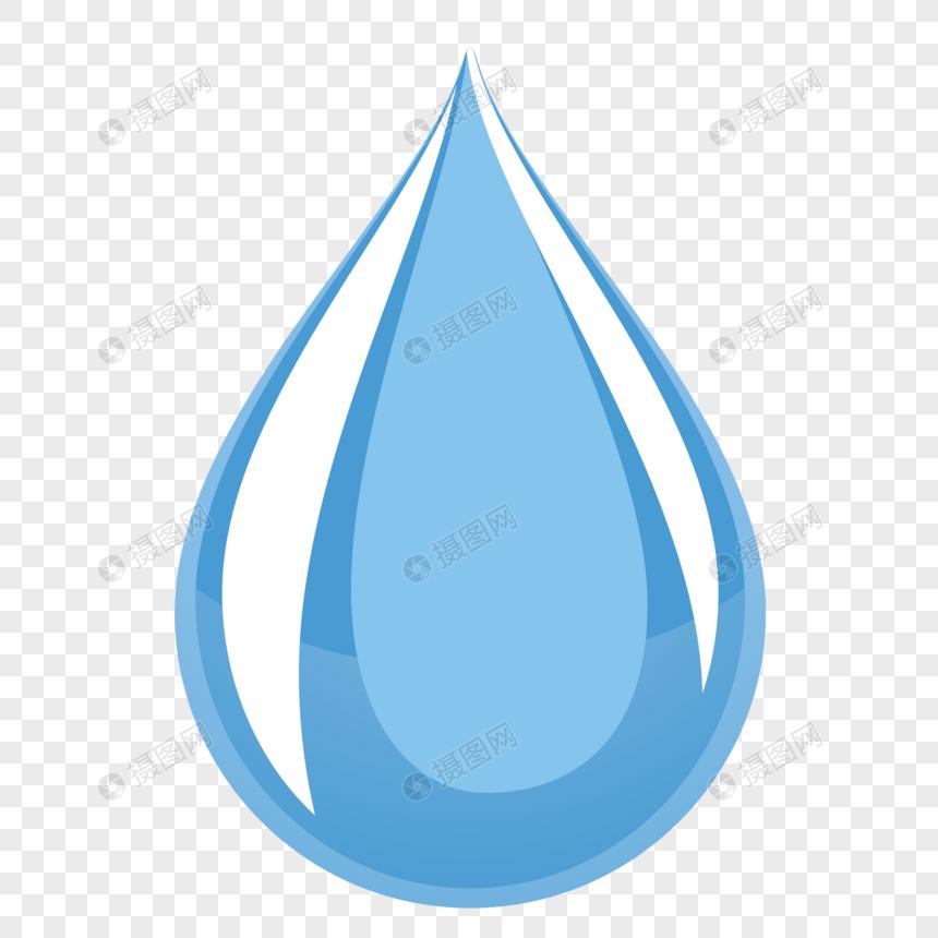 Gota De Agua De Dibujos Animados Imagen Descargarprf Gráficos