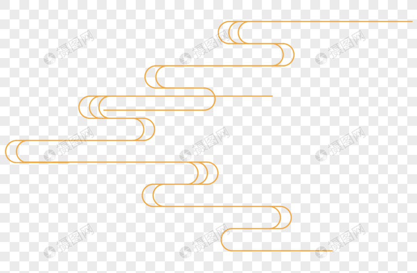 Classical Chinese Decorative Lines Png Image Picture Free Download