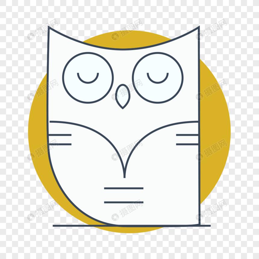 Bahan Vektor Kartun Burung Hantu Gambar Unduh Gratisimej