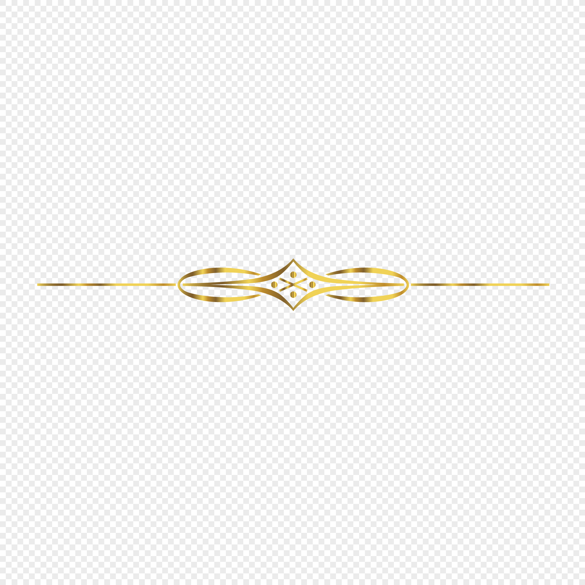 Beautifully Decorated Gold Decorative Lines Png Image Picture Free