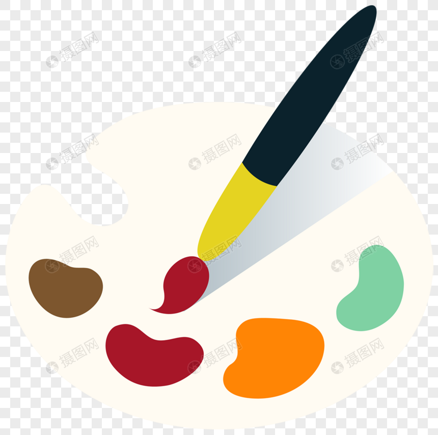 Colorful hand painted sketchpad png image_picture free