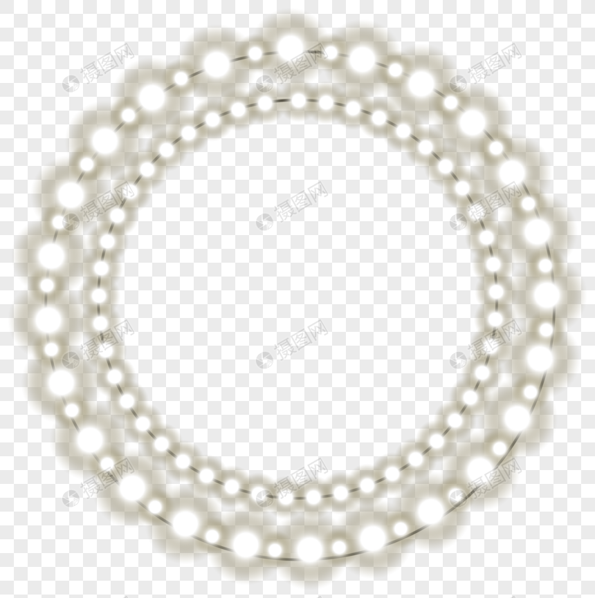 Yellow neon circle png image_picture free download