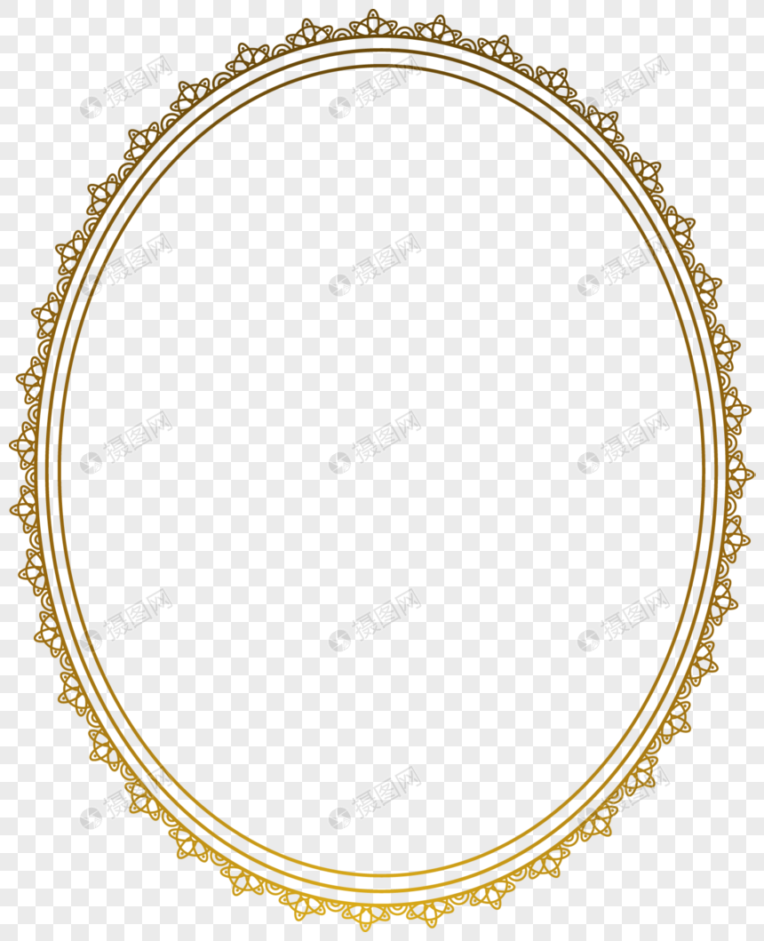 Yellow european lace frame png image_picture free download