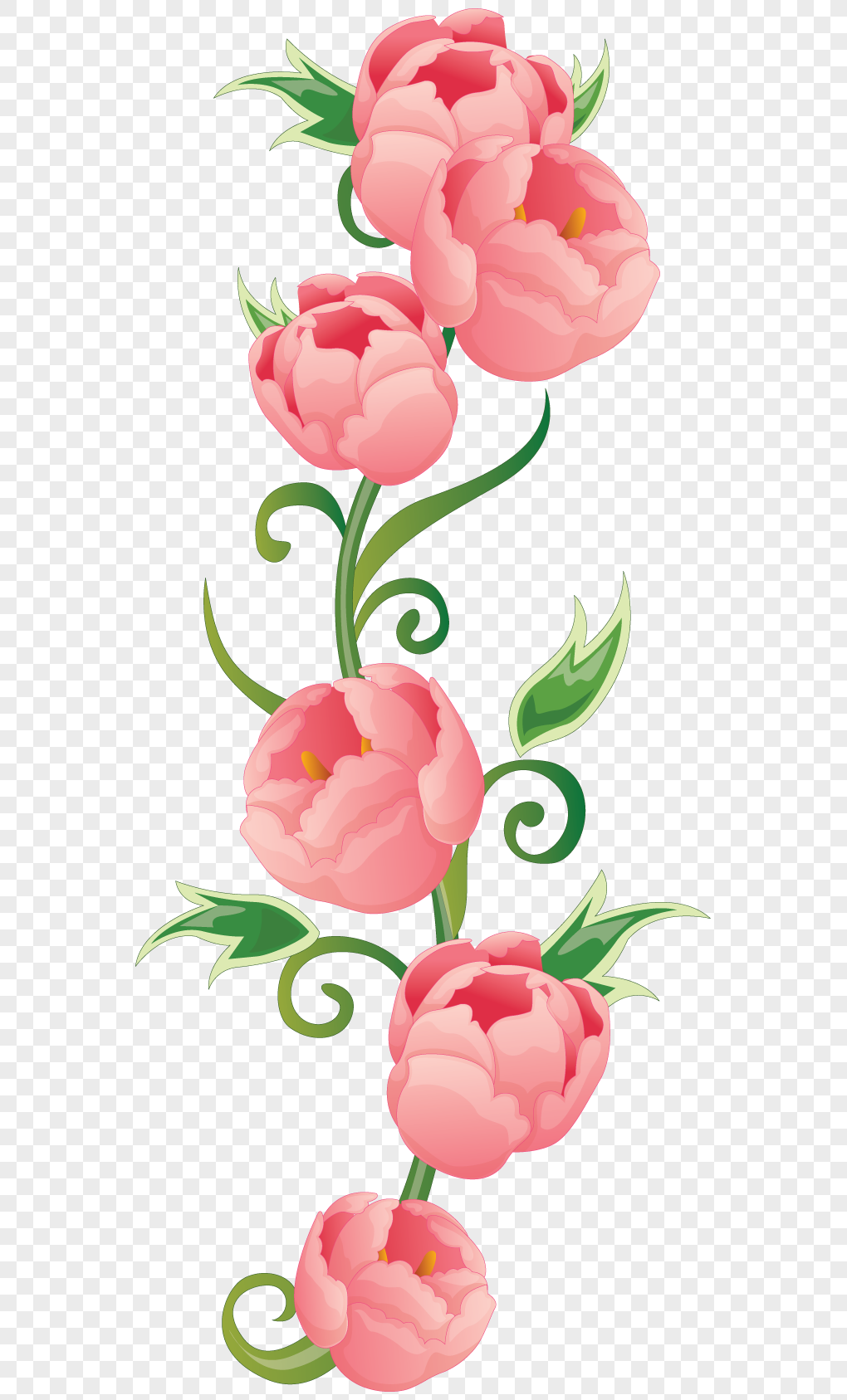 Cartoon pink roses png imagepicture free download 400478885lovepik cartoon pink roses mightylinksfo