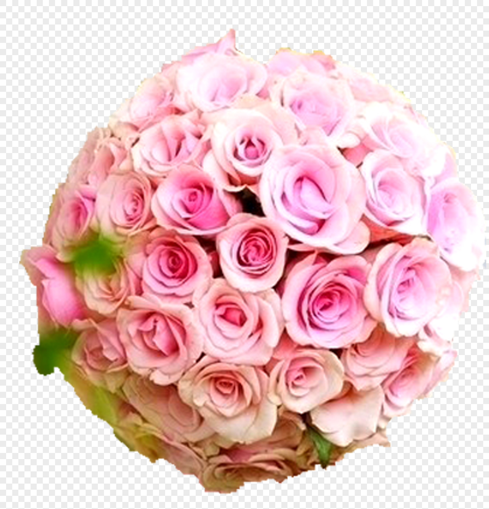 Bouquet, pink rose, flower and flower ball. graphics image_picture ...