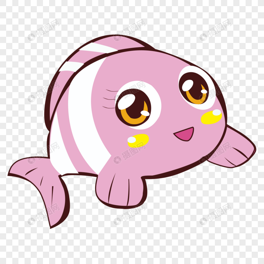 Gambar Ikan Besar Kartun