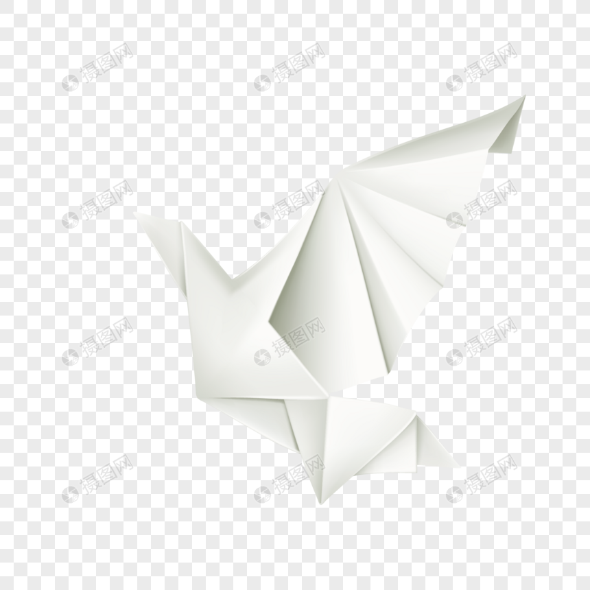 Cartoon Origami Paper Crane Element Png Imagepicture Free Download