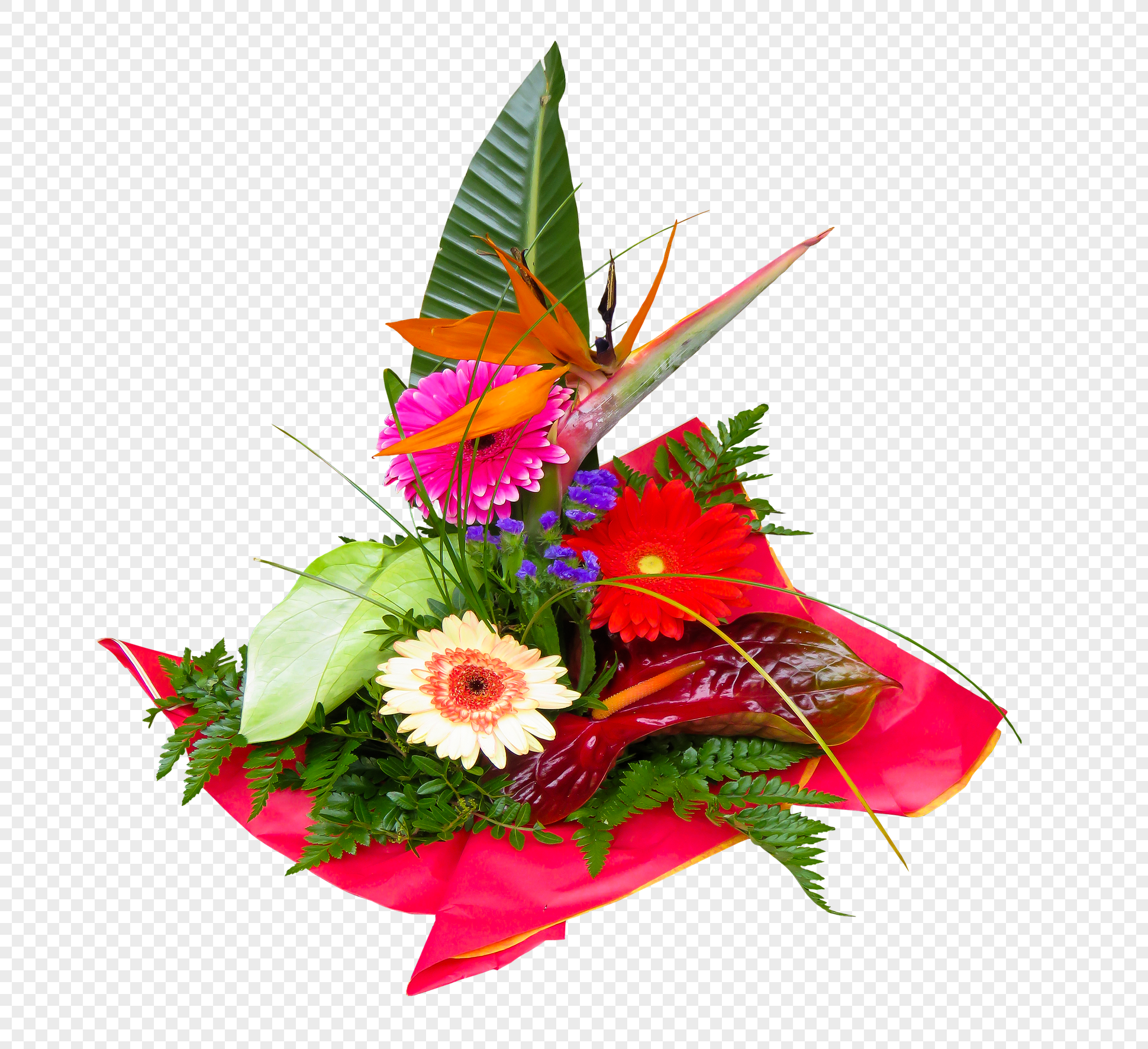 Hd Decorative Flowers Bouquet Materials Png Imagepicture Free