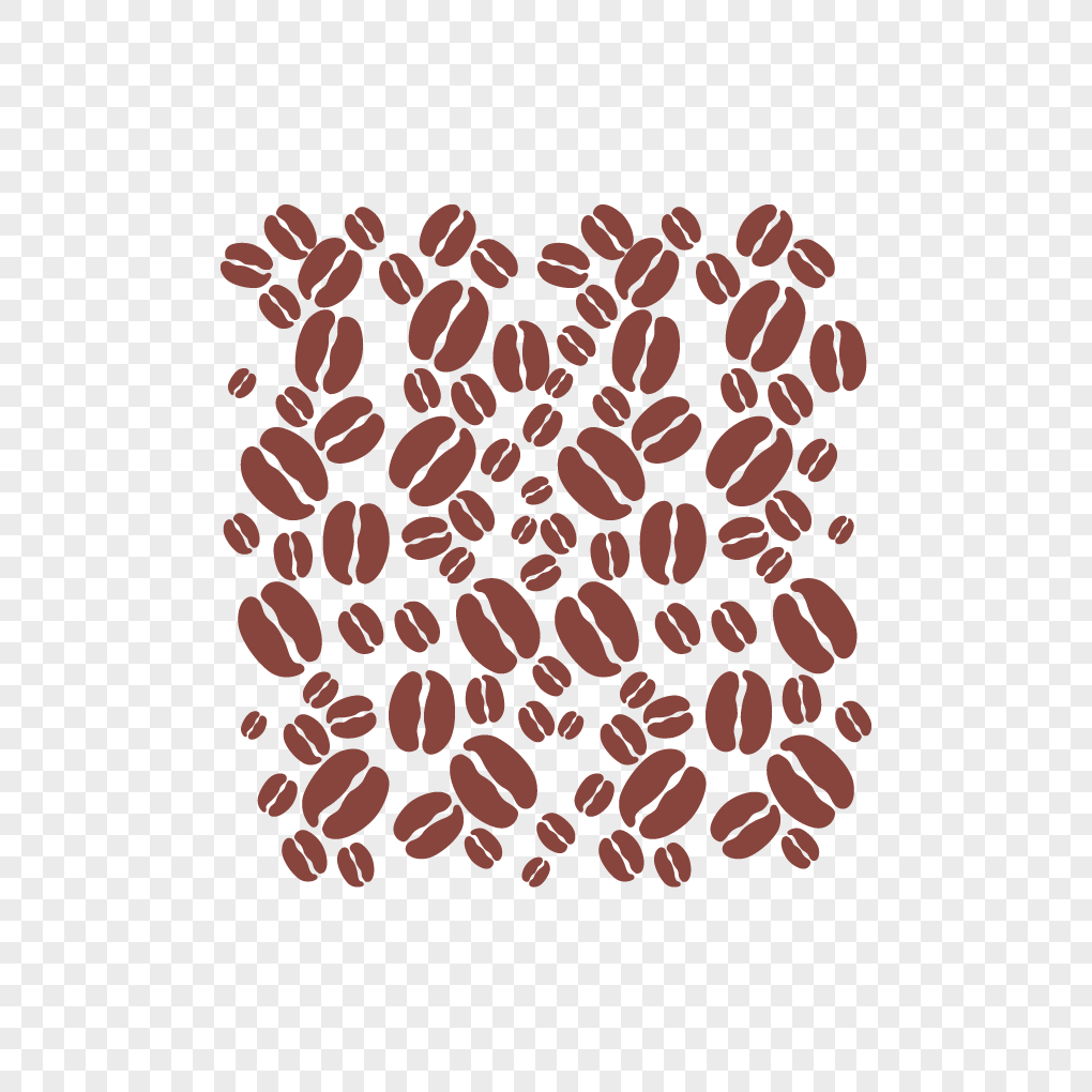 Hand Painted Coffee Beans Png Image Picture Free Download