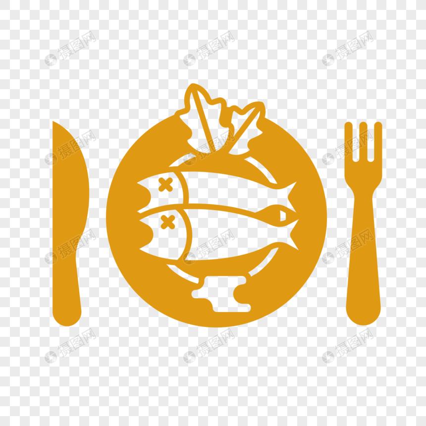 西洋料理魚シルエットイラストイメージグラフィックス Id 400552451prf