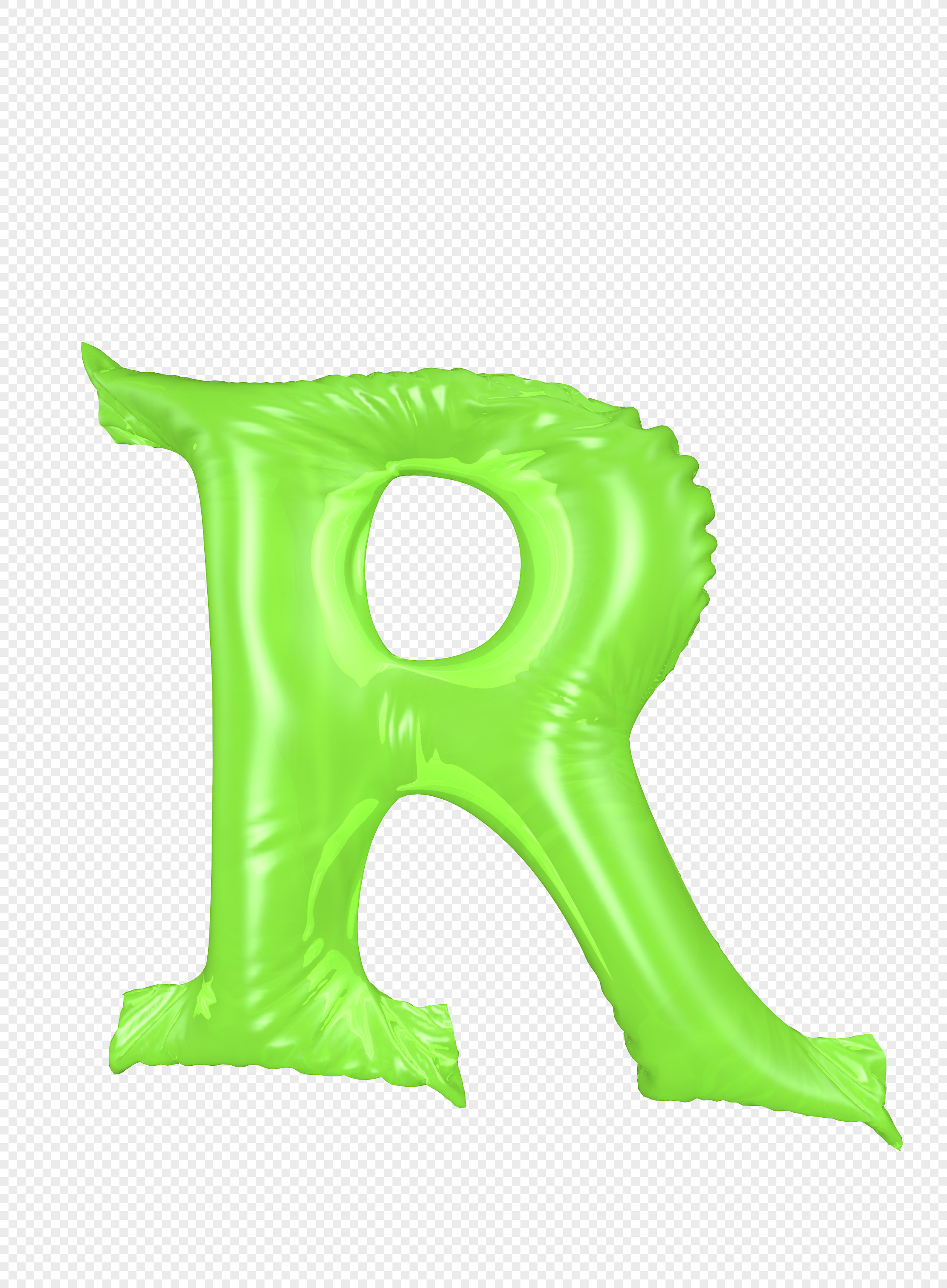 Ballooning Letter R Png Image Picture Free Download