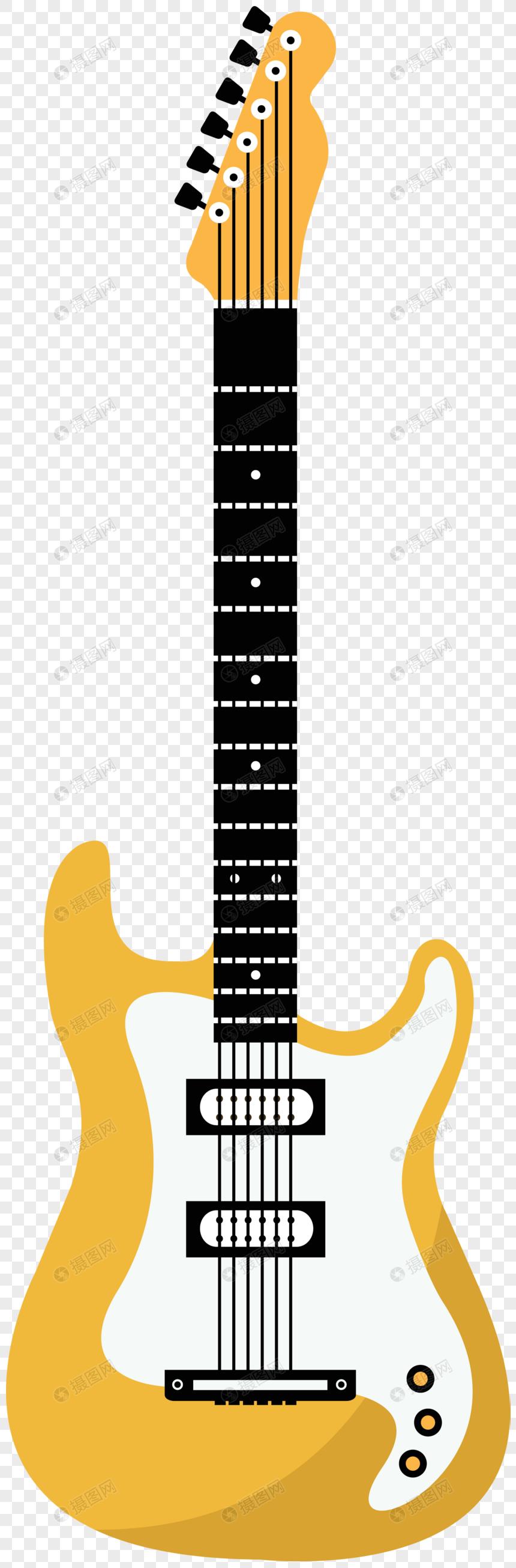 Dibujos Animados Minimalista De Instrumentos Musicales Decorativ