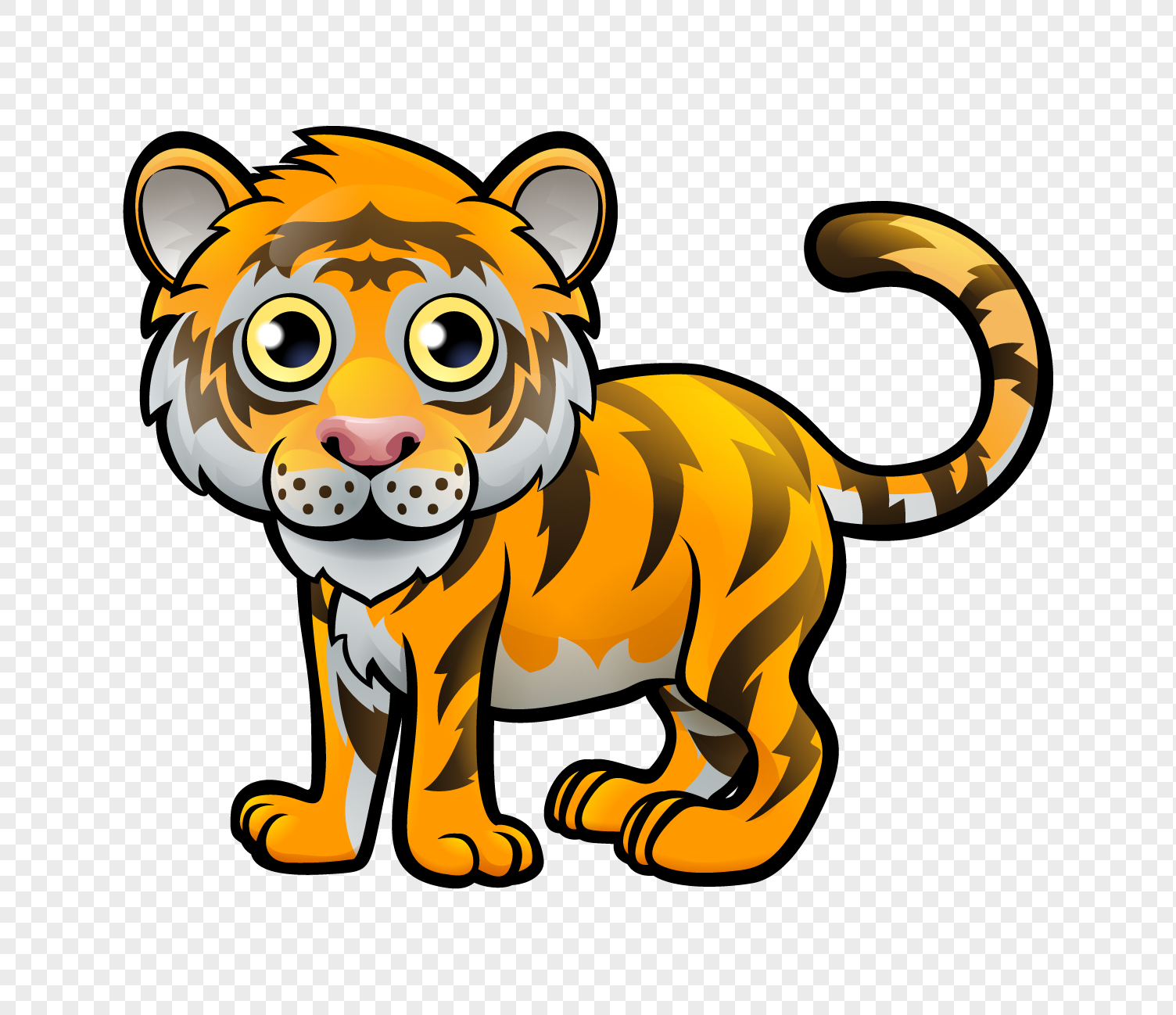 Cartoon tiger png image_picture free download 400591412 ...