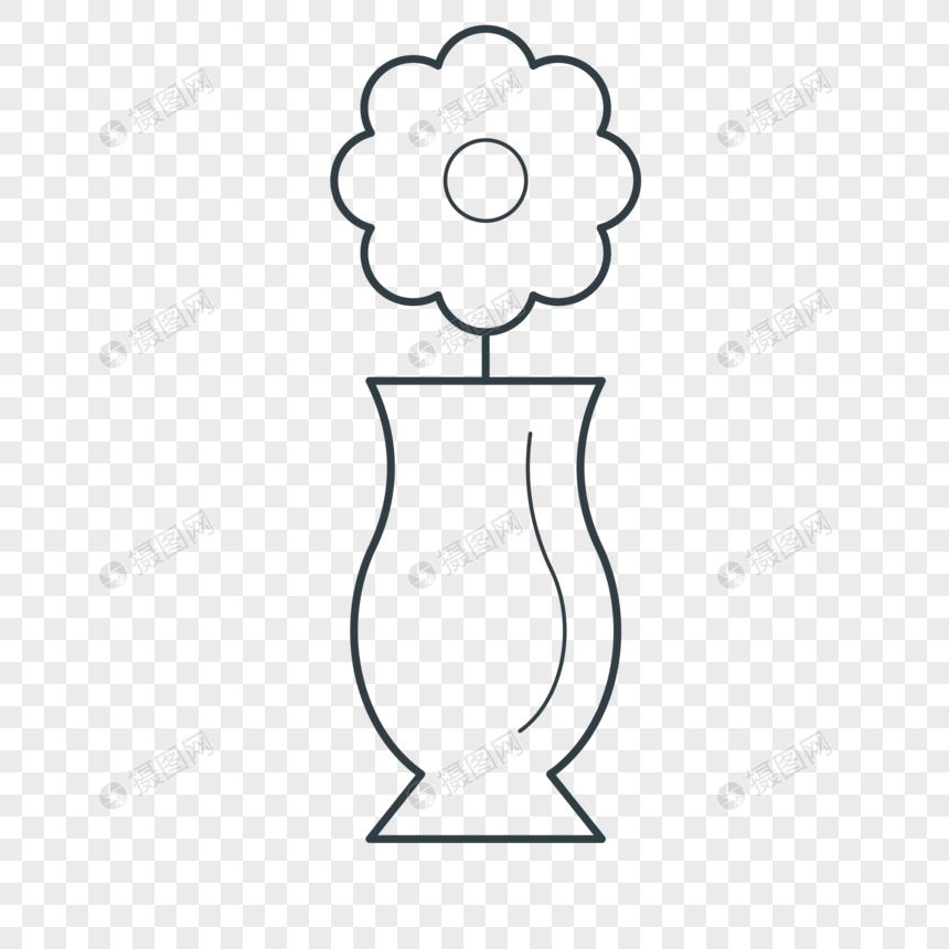 Lukisan Pasu Bunga Hiasan Kata Kata